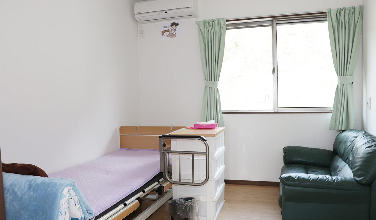 完全個室の居室です